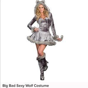 Big bad sexy wolf costume